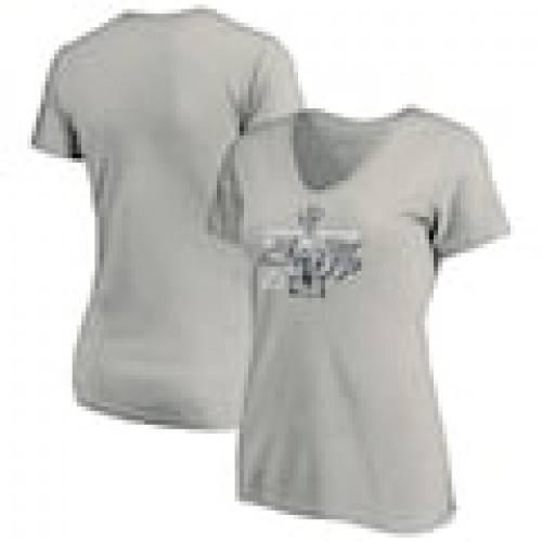 逆輸入 ファナティクス FANATICS BRANDED ライトニング レディース Vネック Tシャツ ヘザー 灰色 グレー グレイ タンパベイ WOMEN&39;S 【 HEATHER GRAY FANATICS BRANDED 2020 STANLEY CUP FINAL BOUND WE WANT THE VNECK TSHIRT 】, WEB SAILING 9b110e37