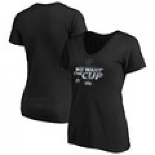 【人気沸騰】 ファナティクス FANATICS BRANDED ダラス スターズ レディース Vネック Tシャツ 黒色 ブラック WOMEN&39;S 【 FANATICS BRANDED 2020 STANLEY CUP FINAL BOUND WE WANT THE VNECK TSHIRT BLACK 】 レディースファッション, アクリルショップはざい屋 b878fa35