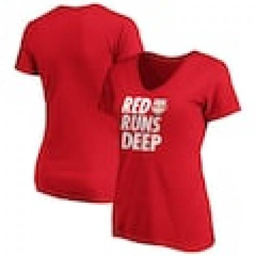 新発売 ファナティクス FANATICS BRANDED 赤 レッド ブルズ レディース チーム Vネック Tシャツ ニューヨーク レッドブルズ WOMEN&39;S 【 RED TEAM FANATICS BRANDED 2020 MLS CUP PLAYOFFS BOUND SLOGAN VNECK TSHIRT 】 レディ, マキゾノチョウ 8a2c6bb3