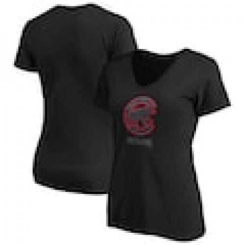 【人気ショップが最安値挑戦!】 ファナティクス FANATICS BRANDED シカゴ カブス レディース アラウンド Vネック Tシャツ 黒色 ブラック WOMEN&39;S 【 FANATICS BRANDED 2020 POSTSEASON AROUND THE HORN VNECK TSHIRT BLACK 】 レディースファッショ, 盛岡じゃじゃめん白龍 237bc97b