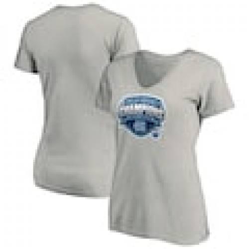 品質が完璧 ファナティクス FANATICS BRANDED ノース カロライナ レディース フィールド Vネック Tシャツ ヘザー 灰色 グレー グレイ ノースカロライナ ターヒールズ WOMEN&39;S 【 FIELD HEATHER GRAY FANATICS BRANDED 2, ユウキグン f0680e9c