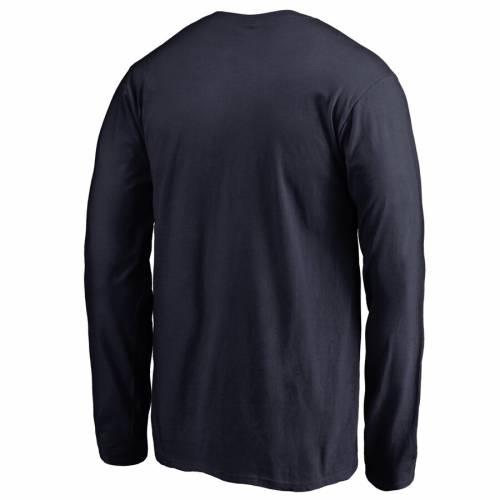 FANATICS BRANDED 子供用 スリーブ Tシャツ 紺 ネイビー キッズ ベビー マタニティ トップス ジュニア 【 Ole Miss Rebels Youth First Sprint Long Sleeve T-shirt - Navy 】 Navy