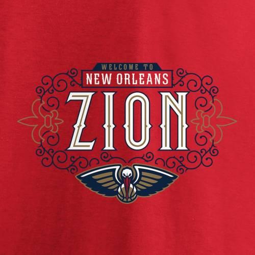 スポーツブランド カジュアル ファッション トップス 半袖 ファナティクス FANATICS BRANDED ペリカンズ Tシャツ お金を節約 赤 レッド 百貨店 RED メンズファッション ニューオーリンズ HOMETOWN 2019 カットソー TSHIRT WILLIAMSON ZION DRAFT NBA