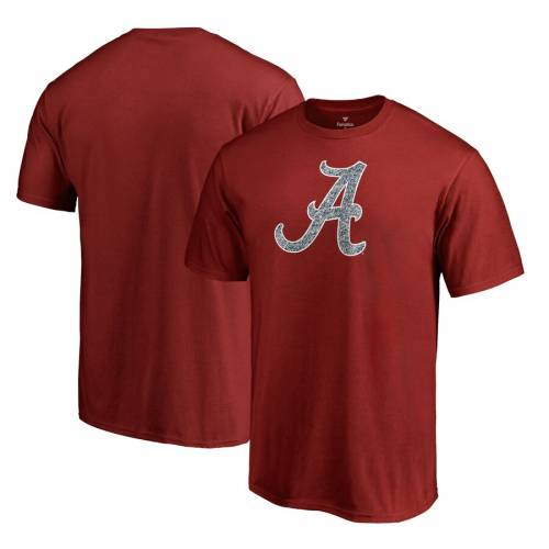 FANATICS BRANDED アラバマ ロゴ Tシャツ & 【 FANATICS BRANDED ALABAMA CRIMSON TIDE STATIC LOGO BIG TALL TSHIRT SCARLET 】 メンズファッション トップス Tシャツ カットソー