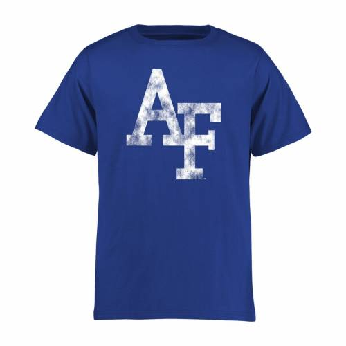 FANATICS BRANDED エア ファルコンズ 子供用 クラシック Tシャツ キッズ ベビー マタニティ トップス ジュニア 【 Air Force Falcons Youth Classic Primary T-shirt - Royal 】 Royal