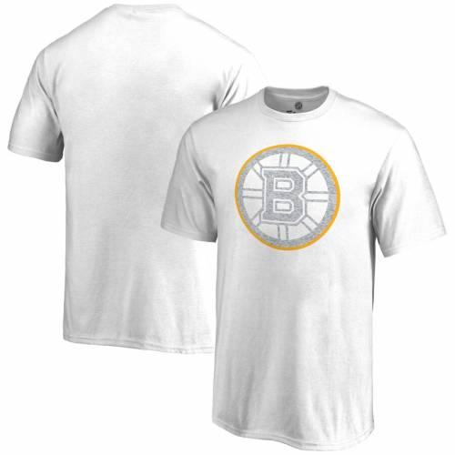 FANATICS BRANDED ボストン 子供用 Tシャツ 白 ホワイト キッズ ベビー マタニティ トップス ジュニア 【 Boston Bruins Youth Whiteout T-shirt - White 】 White