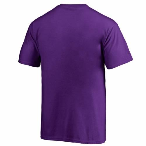 FANATICS BRANDED カロライナ 海賊団 子供用 紫 パープル Tシャツ キッズ ベビー マタニティ トップス ジュニア 【 East Carolina Pirates Youth Paint It Purple T-shirt 】 Shirt