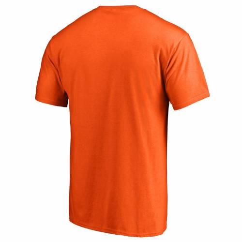 FANATICS BRANDED シラキュース 橙 オレンジ ロゴ Tシャツ 【 ORANGE FANATICS BRANDED SYRACUSE PRIMARY LOGO TSHIRT 】 メンズファッション トップス Tシャツ カットソー