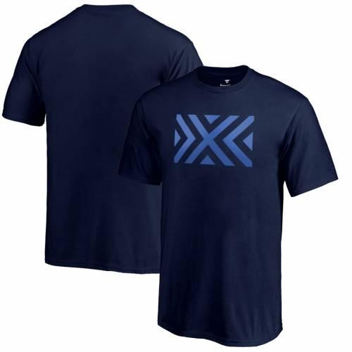 FANATICS BRANDED 子供用 チーム Tシャツ 紺 ネイビー キッズ ベビー マタニティ トップス ジュニア 【 New York Excelsior Youth Team Identity T-shirt - Navy 】 Navy