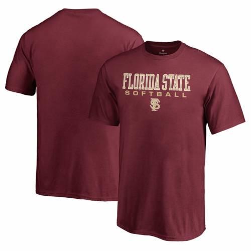 FANATICS BRANDED フロリダ スケートボード 子供用 Tシャツ キッズ ベビー マタニティ トップス ジュニア 【 Florida State Seminoles Youth True Sport Softball T-shirt - Garnet 】 Garnet