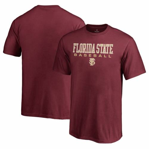 FANATICS BRANDED フロリダ スケートボード 子供用 ベースボール Tシャツ キッズ ベビー マタニティ トップス ジュニア 【 Florida State Seminoles Youth True Sport Baseball T-shirt - Garnet 】 Garnet