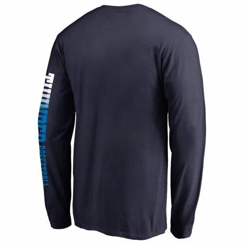 スポーツブランド カジュアル ファッション トップス 長袖 ファナティクス FANATICS 流行 BRANDED 青色 ブルー オクラホマ 早割クーポン シティ スリーブ SLEEVE メンズファッション MEN'S オクラホマシティ トッ TSHIRT GRADIENT サンダー Tシャツ SHIRT BLUE