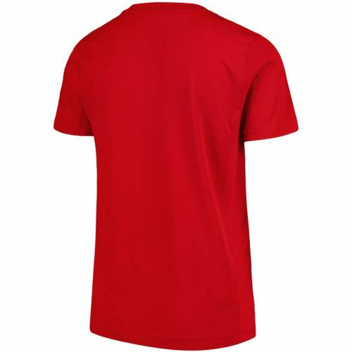 FANATICS BRANDED ウィスコンシン 子供用 スケートボード Tシャツ 赤 レッド キッズ ベビー マタニティ トップス ジュニア 【 Wisconsin Badgers Youth Tradition State T-shirt - Red 】 Red