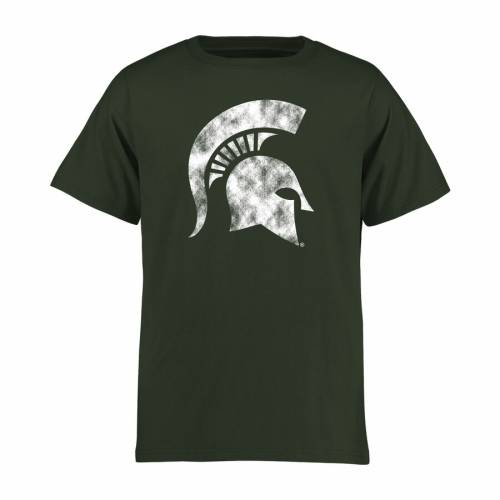 FANATICS BRANDED ミシガン スケートボード 子供用 クラシック Tシャツ 緑 グリーン キッズ ベビー マタニティ トップス ジュニア 【 Michigan State Spartans Youth Classic Primary T-shirt - Green 】 Green