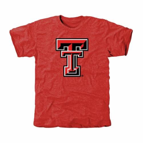 スポーツブランド カジュアル ファッション トップス 半袖 ファナティクス 百貨店 ついに再販開始 FANATICS BRANDED テキサス テック 赤 レッド TSHIRT クラシック Tシャツ PRIMARY キサステック TRIBLEND RED レイダース CLASSIC メンズファッショ レッドレイダース
