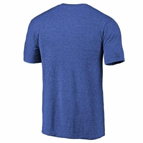 FANATICS BRANDED トロント 青 ブルー Tシャツ メンズファッション トップス カットソー メンズ 【 [customized Item] Toronto Blue Jays Personalized Base Runner Tri-blend T-shirt - Royal 】 Royal