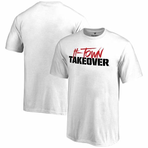 FANATICS BRANDED ヒューストン 子供用 Tシャツ 白 ホワイト キッズ ベビー マタニティ トップス ジュニア 【 Houston Cougars Youth H-town Takeover T-shirt - White 】 White