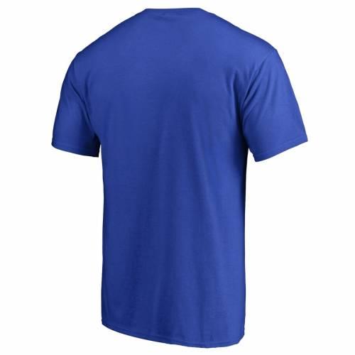 FANATICS BRANDED ニックス チーム ロゴ Tシャツ 青 ブルー 【 TEAM BLUE FANATICS BRANDED NEW YORK KNICKS SPLATTER LOGO TSHIRT 】 メンズファッション トップス Tシャツ カットソー
