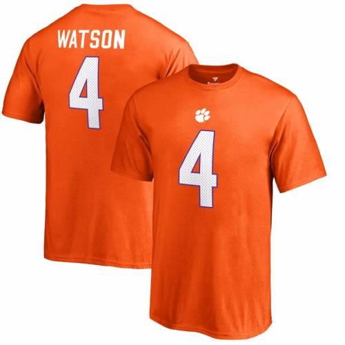 FANATICS BRANDED タイガース 子供用 カレッジ Tシャツ 橙 オレンジ Deshaun?watson キッズ ベビー マタニティ トップス ジュニア 【 Deshaun?watson Clemson Tigers Youth College Legends T-shirt - Orange 】 Orange