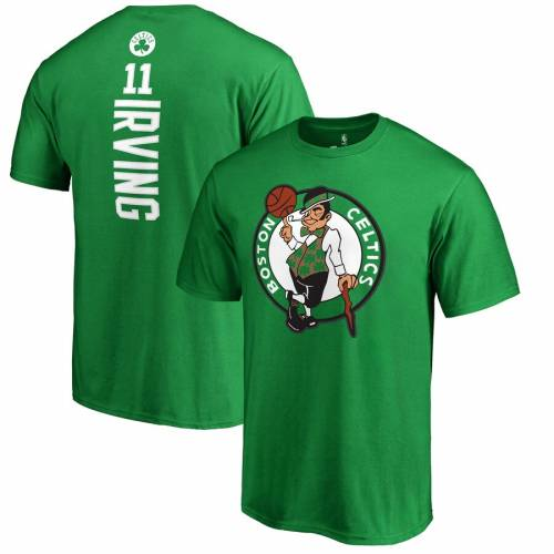 FANATICS BRANDED カイリー アービング ボストン セルティックス Tシャツ メンズファッション トップス カットソー メンズ 【 Kyrie Irving Boston Celtics Backer Name And Number T-shirt 】 Kelly Green