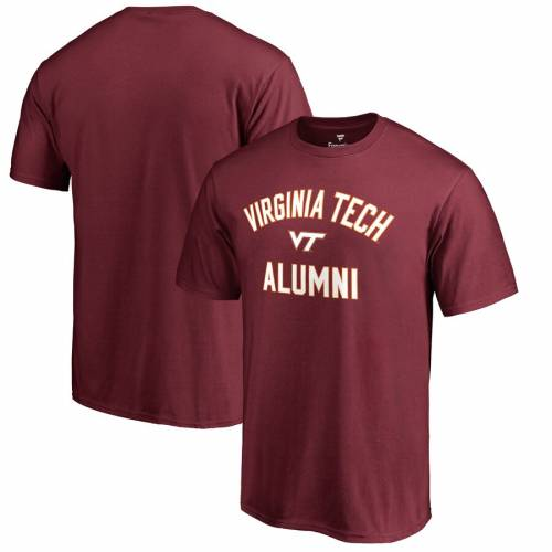 FANATICS BRANDED バージニア テック チーム Tシャツ メンズファッション トップス カットソー メンズ 【 Virginia Tech Hokies Team Alumni T-shirt - Maroon 】 Maroon