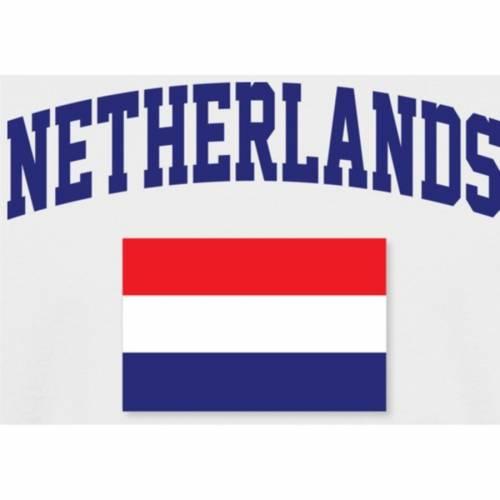 FANATICS BRANDED 子供用 Tシャツ 白 ホワイト キッズ ベビー マタニティ トップス ジュニア 【 Netherlands Youth Flag T-shirt - White 】 White
