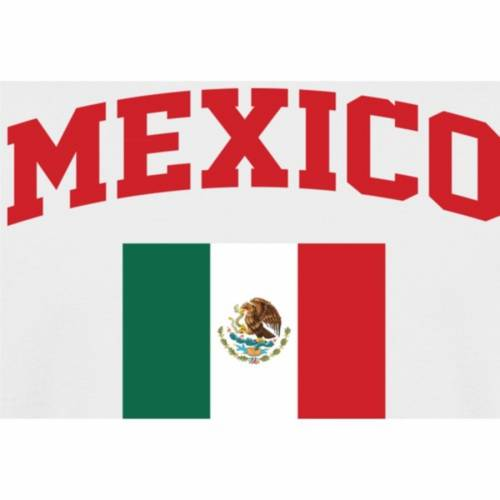 FANATICS BRANDED 子供用 Tシャツ 白 ホワイト キッズ ベビー マタニティ トップス ジュニア 【 Mexico Youth Flag T-shirt - White 】 White
