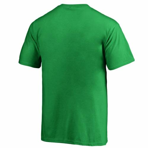 FANATICS BRANDED ウィスコンシン 子供用 Tシャツ 緑 グリーン St. キッズ ベビー マタニティ トップス ジュニア 【 Wisconsin Badgers Youth St. Patricks Day Luck Tradition T-shirt - Kelly Green 】 Kelly Green
