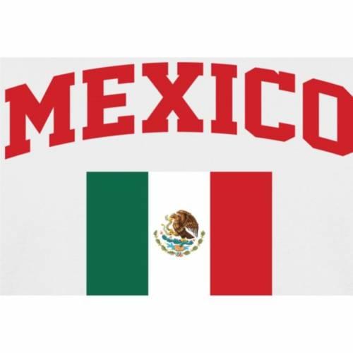 FANATICS BRANDED Tシャツ 【 MEXICO FLAG TSHIRT WHITE 】 メンズファッション トップス カットソー 送料無料
