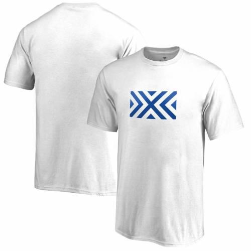 FANATICS BRANDED 子供用 チーム Tシャツ 白 ホワイト キッズ ベビー マタニティ トップス ジュニア 【 New York Excelsior Youth Team Identity T-shirt - White 】 White