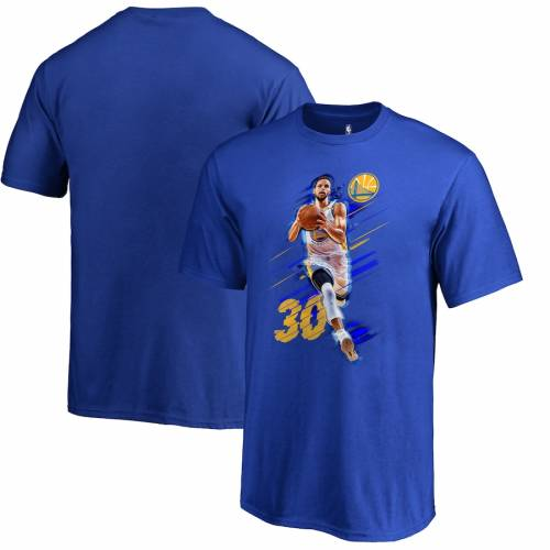 FANATICS BRANDED ステファン カリー スケートボード ウォリアーズ 子供用 Tシャツ キッズ ベビー マタニティ トップス ジュニア 【 Stephen Curry Golden State Warriors Youth Fade Away T-shirt - Royal 】 Royal