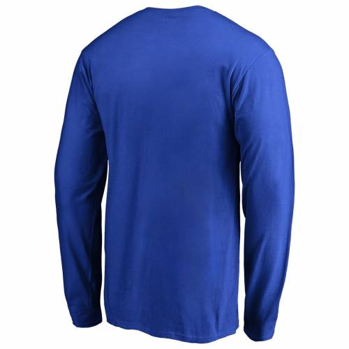 FANATICS BRANDED ケンタッキー チーム ロゴ スリーブ Tシャツ メンズファッション トップス カットソー メンズ 【 Kentucky Wildcats Big And Tall Primary Team Logo Long Sleeve T-shirt - Royal 】 Royal
