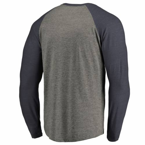 FANATICS BRANDED ケンタッキー ラグラン スリーブ Tシャツ 灰色 グレー グレイ & 【 RAGLAN SLEEVE GRAY FANATICS BRANDED KENTUCKY WILDCATS BIG TALL FREEDOM TRIBLEND LONG TSHIRT HEATHERED 】 メンズファッション ト