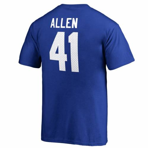 FANATICS BRANDED ケンタッキー 子供用 カレッジ Tシャツ キッズ ベビー マタニティ トップス ジュニア 【 Josh Allen Kentucky Wildcats Youth College Legends Name And Number T-shirt - Royal 】 Royal
