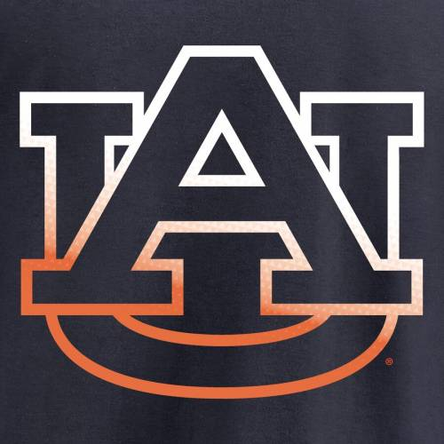 FANATICS BRANDED タイガース 子供用 ロゴ Tシャツ 紺 ネイビー キッズ ベビー マタニティ トップス ジュニア 【 Auburn Tigers Youth Gradient Logo T-shirt - Navy 】 Navy
