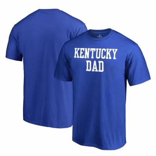 FANATICS BRANDED ケンタッキー チーム Tシャツ メンズファッション トップス カットソー メンズ 【 Kentucky Wildcats Team Dad Crewneck T-shirt - Royal 】 Royal