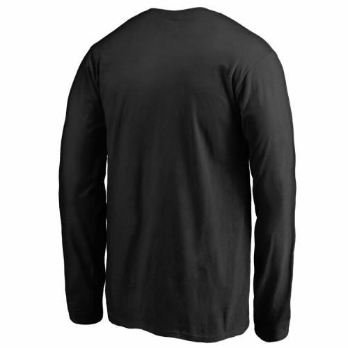 FANATICS BRANDED キングス 子供用 スリーブ Tシャツ 黒 ブラック キッズ ベビー マタニティ トップス ジュニア 【 Los Angeles Kings Youth Pond Hockey Long Sleeve T-shirt - Black 】 Black