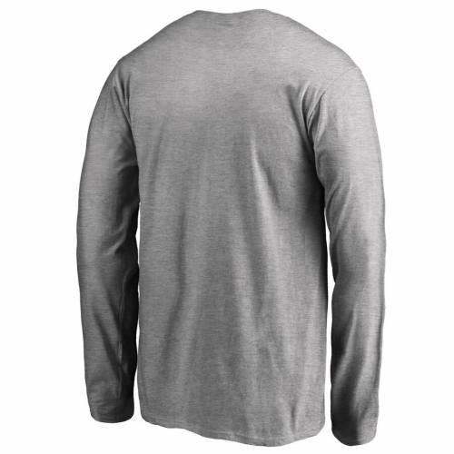 FANATICS BRANDED キングス 子供用 チーム スリーブ Tシャツ ヘザー 灰色 グレー グレイ キッズ ベビー マタニティ トップス ジュニア 【 Los Angeles Kings Youth Team Alternate Long Sleeve T-shirt - Heather Gr