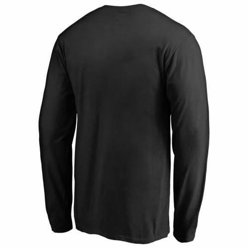 FANATICS BRANDED チーム ロゴ スリーブ Tシャツ 黒 ブラック メンズファッション トップス カットソー メンズ 【 Vanderbilt Commodores Big And Tall Primary Team Logo Long Sleeve T-shirt - Black 】 Black