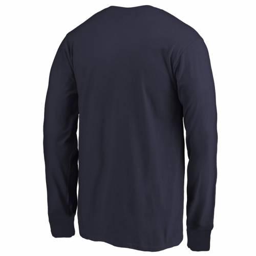 FANATICS BRANDED 紺 ネイビー 子供用 スリーブ Tシャツ キッズ ベビー マタニティ トップス ジュニア 【 Navy Midshipmen Youth First Sprint Long Sleeve T-shirt - Navy 】 Navy
