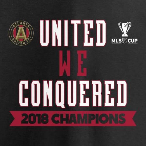 FANATICS BRANDED アトランタ ネイティブ スリーブ Tシャツ 黒 ブラック メンズファッション トップス カットソー メンズ 【 Atlanta United Fc 2018 Mls Cup Champions Native Long Sleeve T-shirt - Black 】 Black