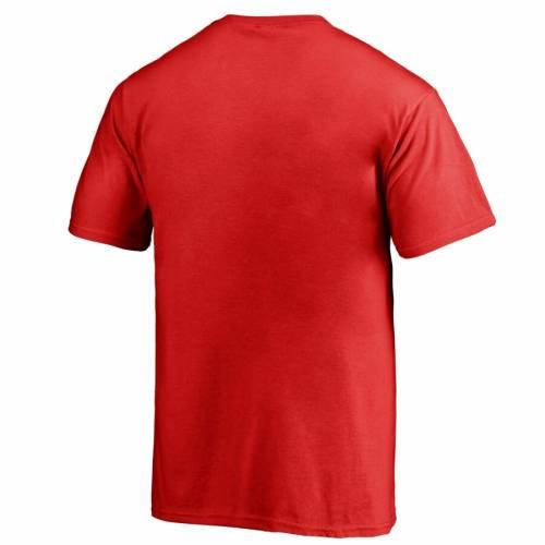 FANATICS BRANDED ユタ 子供用 ロゴ Tシャツ 赤 レッド キッズ ベビー マタニティ トップス ジュニア 【 Utah Utes Youth Static Logo T-shirt - Red 】 Red