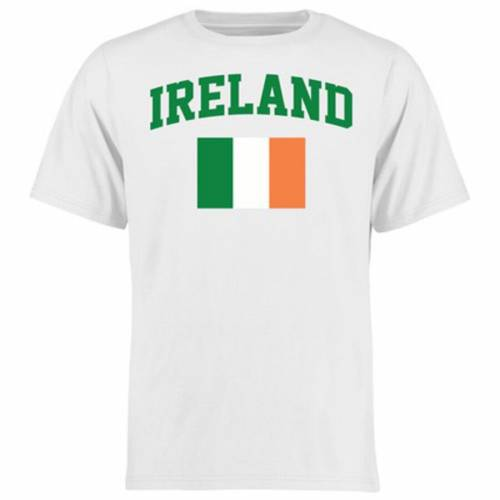 FANATICS BRANDED 子供用 Tシャツ 白 ホワイト キッズ ベビー マタニティ トップス ジュニア 【 Ireland Youth Flag T-shirt - White 】 White