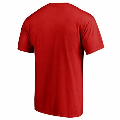 FANATICS BRANDED ルイビル カーディナルス Tシャツ 赤 レッド 【 RED FANATICS BRANDED LOUISVILLE CARDINALS AGAINST THE WORLD TSHIRT 】 メンズファッション トップス Tシャツ カットソー
