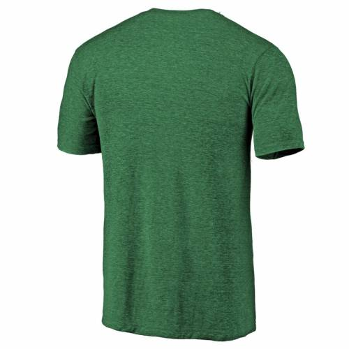 FANATICS BRANDED タイガース Tシャツ 緑 グリーン ST. PATRICK'S 【 GREEN FANATICS BRANDED AUBURN TIGERS DAY LUCK TRADITION TRIBLEND TSHIRT HEATHERED 】 メンズファッション トップス Tシャツ カットソー