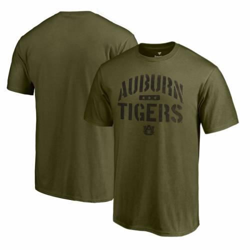 FANATICS BRANDED タイガース Tシャツ 緑 グリーン メンズファッション トップス カットソー メンズ 【 Auburn Tigers Camo Jungle T-shirt - Green 】 Green