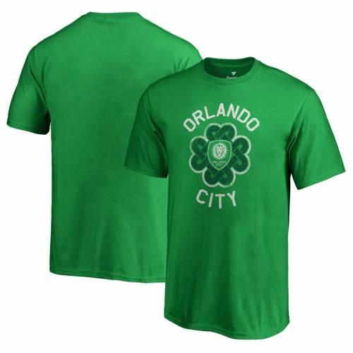 FANATICS BRANDED オーランド シティ 子供用 Tシャツ 緑 グリーン St. キッズ ベビー マタニティ トップス ジュニア 【 Orlando City Sc Youth St. Patricks Day Luck Tradition T-shirt - Kelly Green 】 Kelly Green