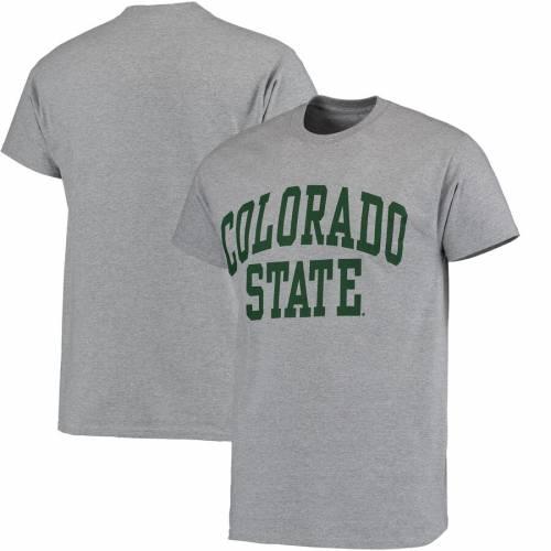 FANATICS BRANDED コロラド スケートボード ラムズ Tシャツ 灰色 グレー グレイ メンズファッション トップス カットソー メンズ 【 Colorado State Rams Basic Arch T-shirt - Gray 】 Gray