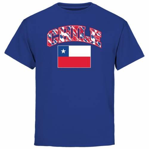FANATICS BRANDED 子供用 Tシャツ キッズ ベビー マタニティ トップス ジュニア 【 Chile Youth True Colors T-shirt - Royal 】 Royal