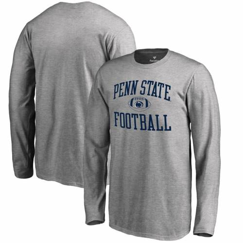 FANATICS BRANDED スケートボード ライオンズ 子供用 スリーブ Tシャツ キッズ ベビー マタニティ トップス ジュニア 【 Penn State Nittany Lions Youth First Sprint Long Sleeve T-shirt - Ash 】 Ash